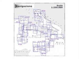 Carta Navimap IT120-IT121